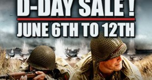 Storm the Beaches for the D-Day Sale